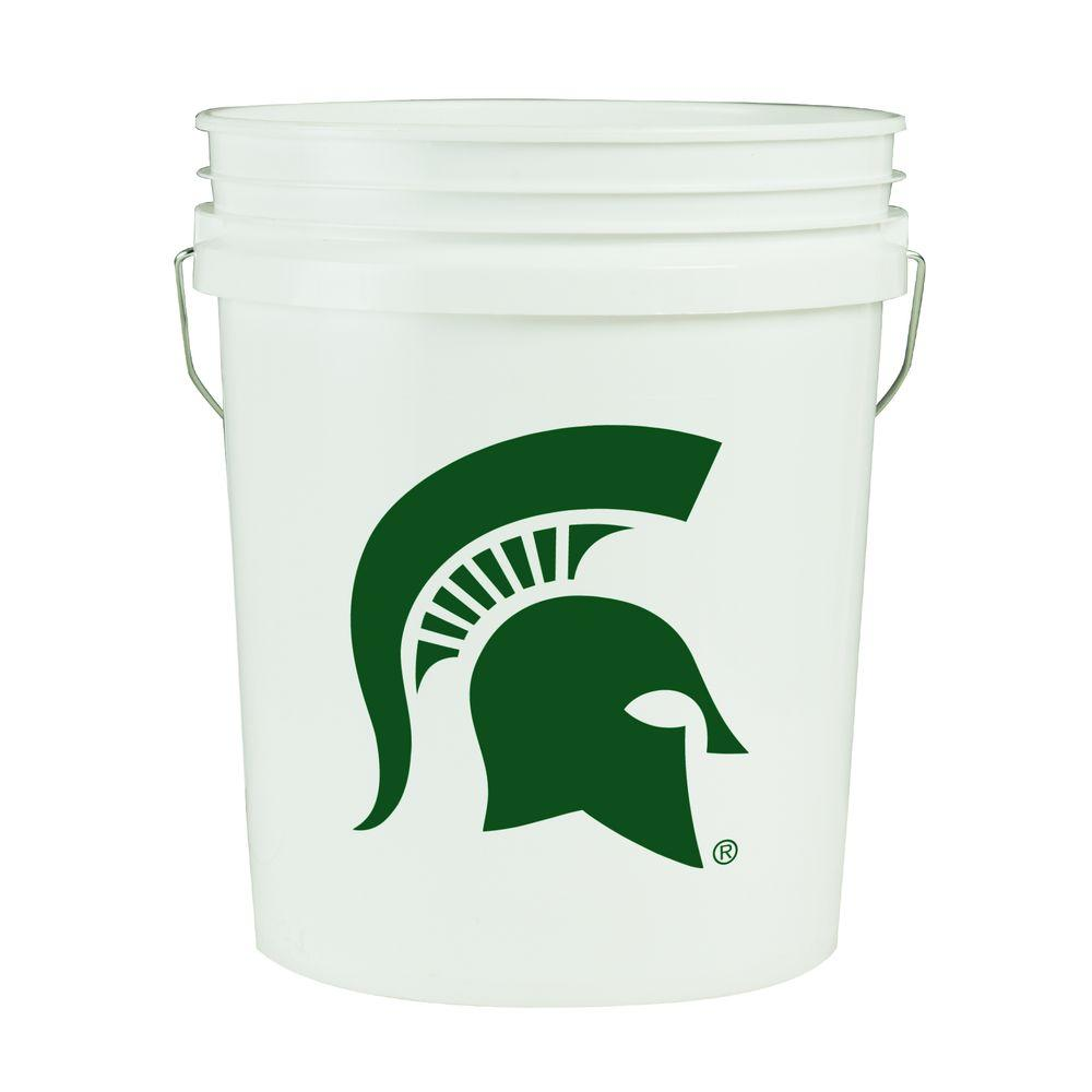 Michigan State 5-Gal. College Bucket