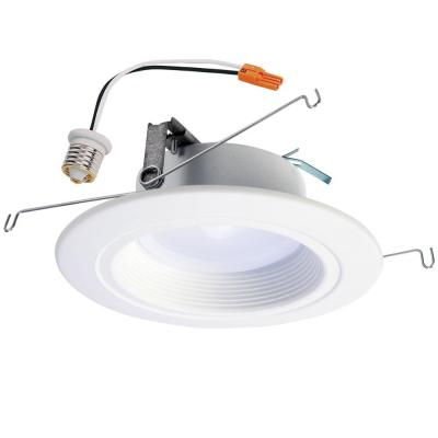 RL 5 in. and 6 in. Selectable Color Temperature (2700K-5000K) Integrated LED Recessed Trim, Title 20 Compliant