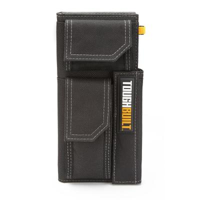 Organizer and Grid Notebook with Handle, Black