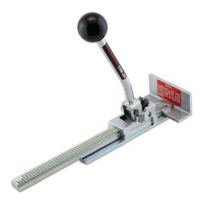 Ratcheting Flooring Jack for Installing Hardwood and Engineered Floor Boards