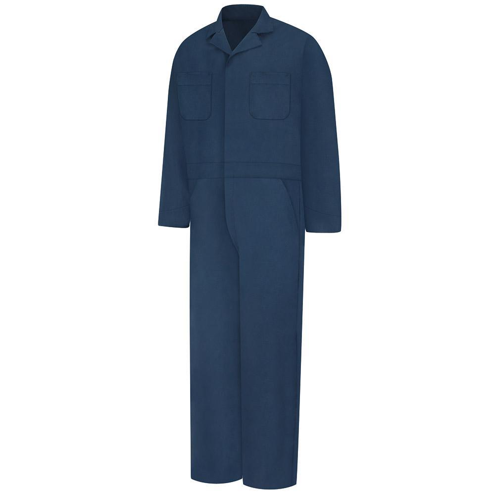 Red Kap Uniforms Men's Large Navy (Blue) Speedsuit
