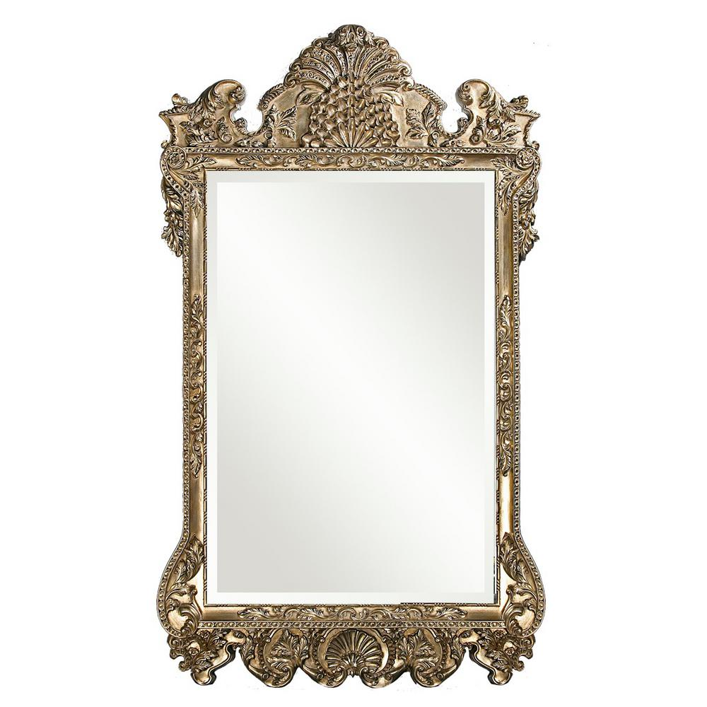Marquette Antique Silver Framed Mirror