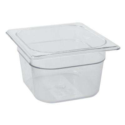 1-2/3 Qt. 1/6 Size Cold Food Pan