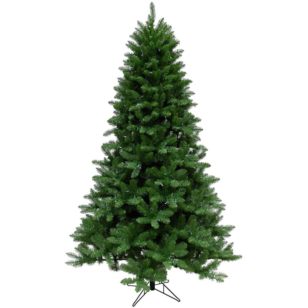 7.5 ft. Greenland Pine Artificial Christmas Tree with Clear Smart String