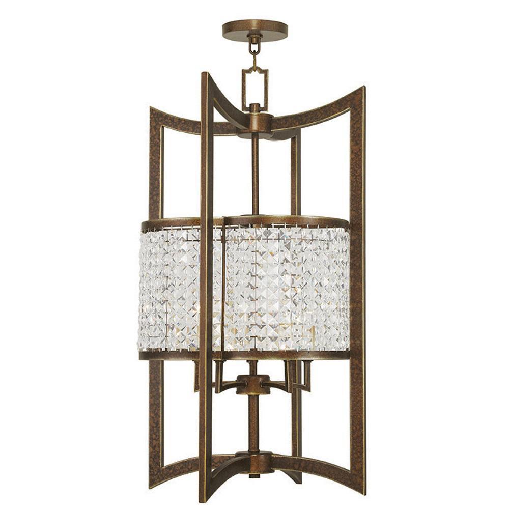 Grammercy 5-Light Palacial Bronze Pendant