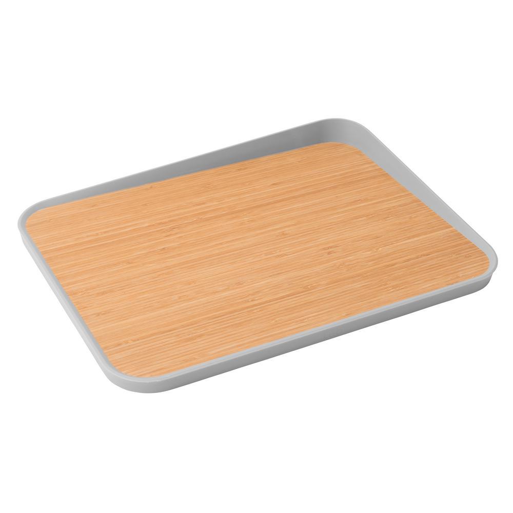 Leo Angled Lip Bamboo Cutting Board