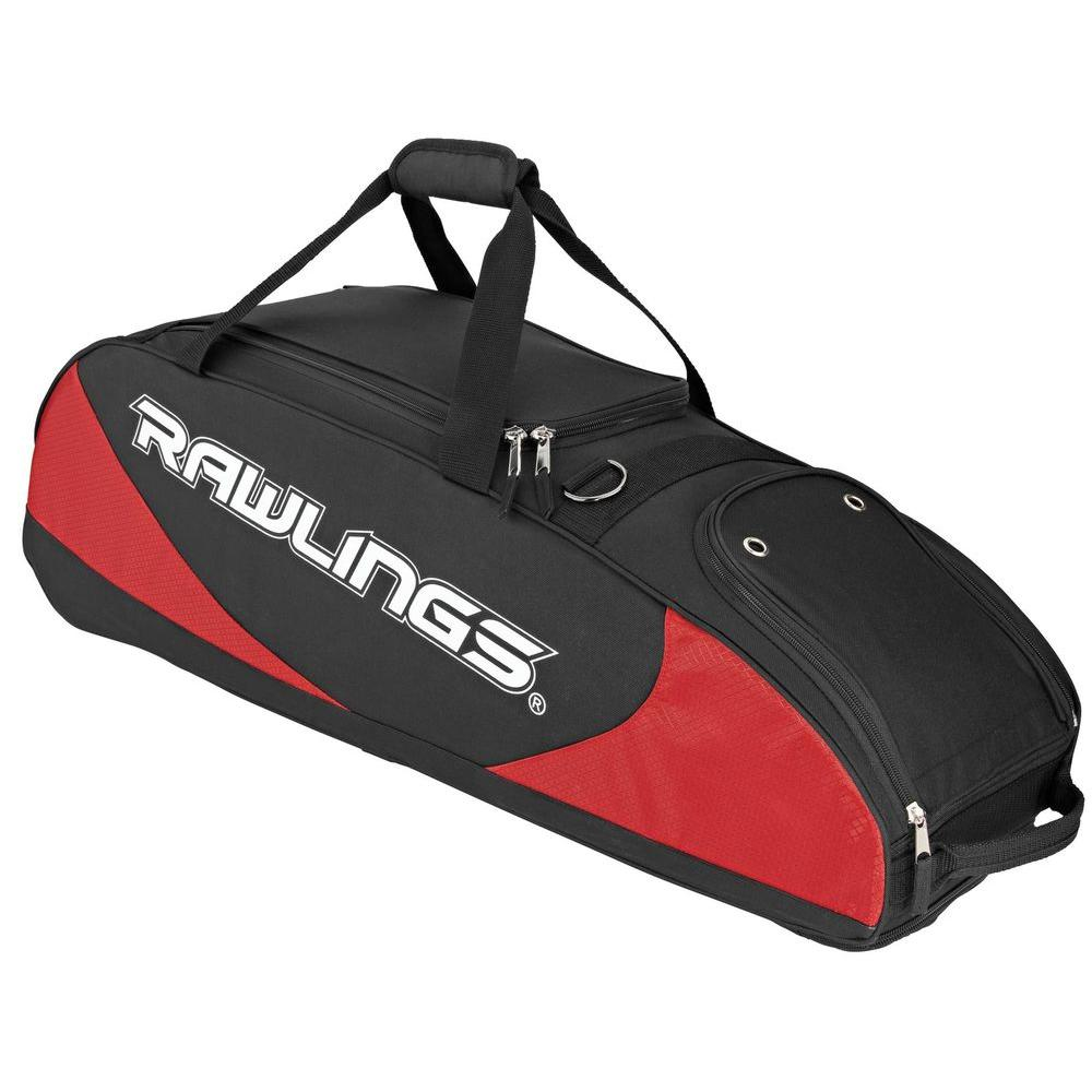 null Player Preferred PPWB Travel and Luggage Case for Baseball, Softball-Scarlet Red