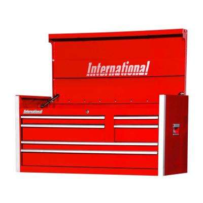 Pro Series 42 in. 6-Drawer Top Chest Red