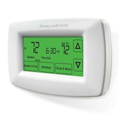 7-Day Programmable Touchscreen Thermostat