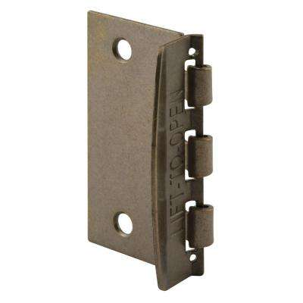 Flip Action Antique Brass Door Lock · Prime-Line ... - Antique Brass - Door Locks & Deadbolts - Door Knobs & Hardware