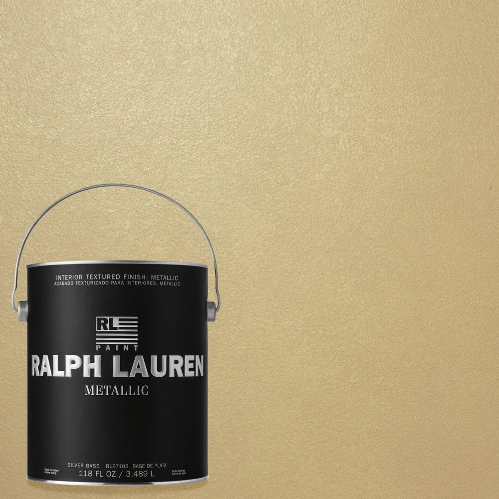 Ralph Lauren 1 gal. Pale Luster Gold Metallic Specialty Finish Interior Paint