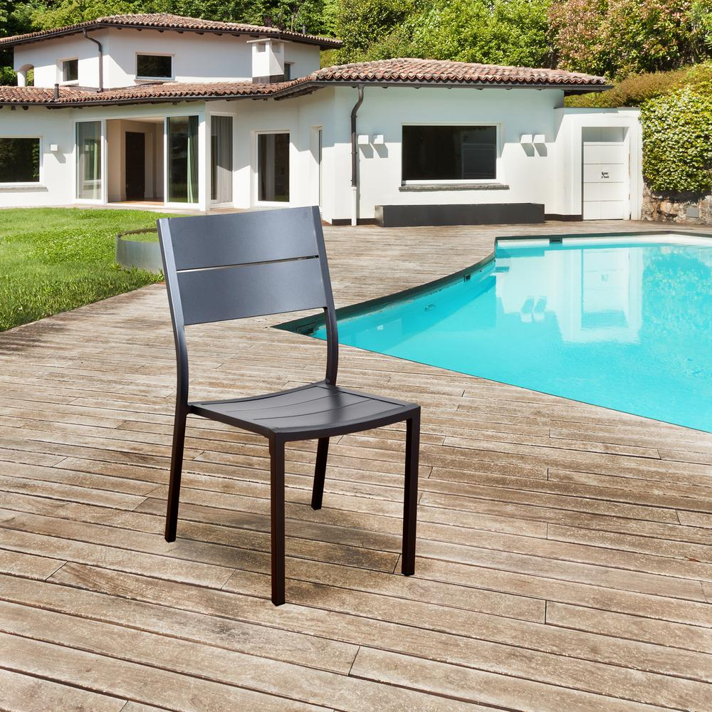 Side Chair Aluminum Outdoor Dining Chair Pack Bryant Product Picture 377