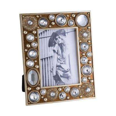 10.65 in. Gold Mahla Picture Frame