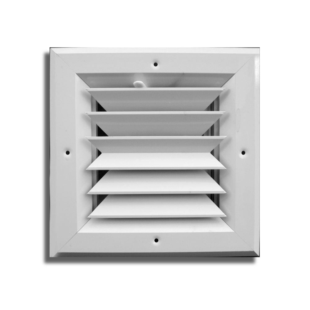 10 in. x 10 in. 2-Way Square Ceiling Diffuser