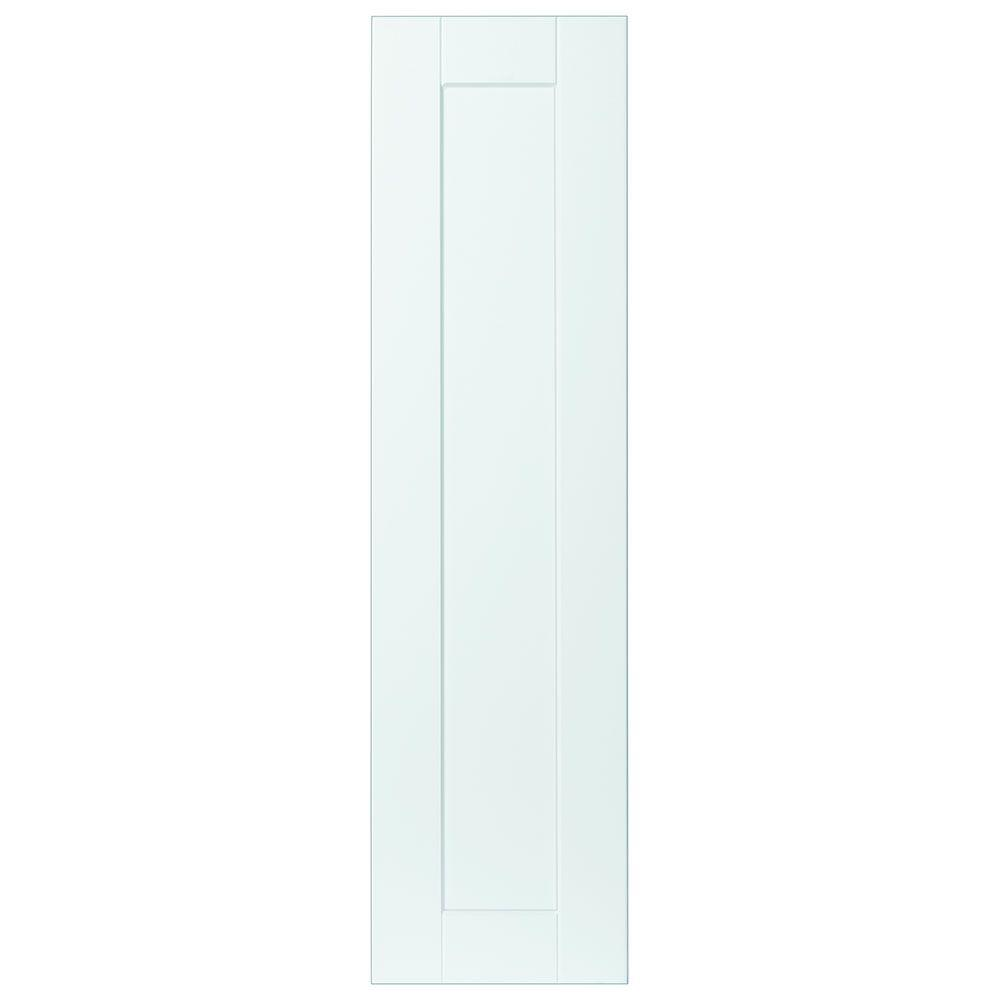 white kitchen cabinet end panels hampton bay 11x41 375x0 625 in shaker decorative end 28625
