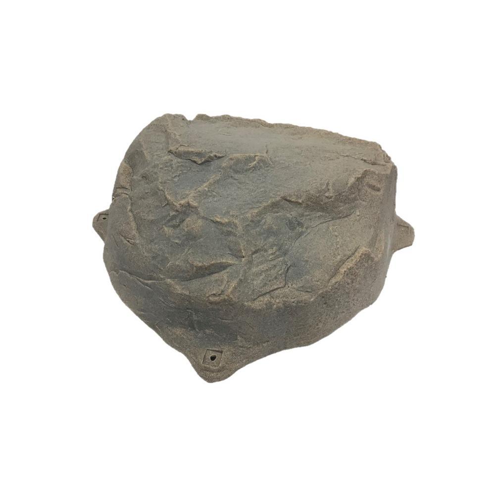 Artificial Septic Cleanout Rock Enclosure