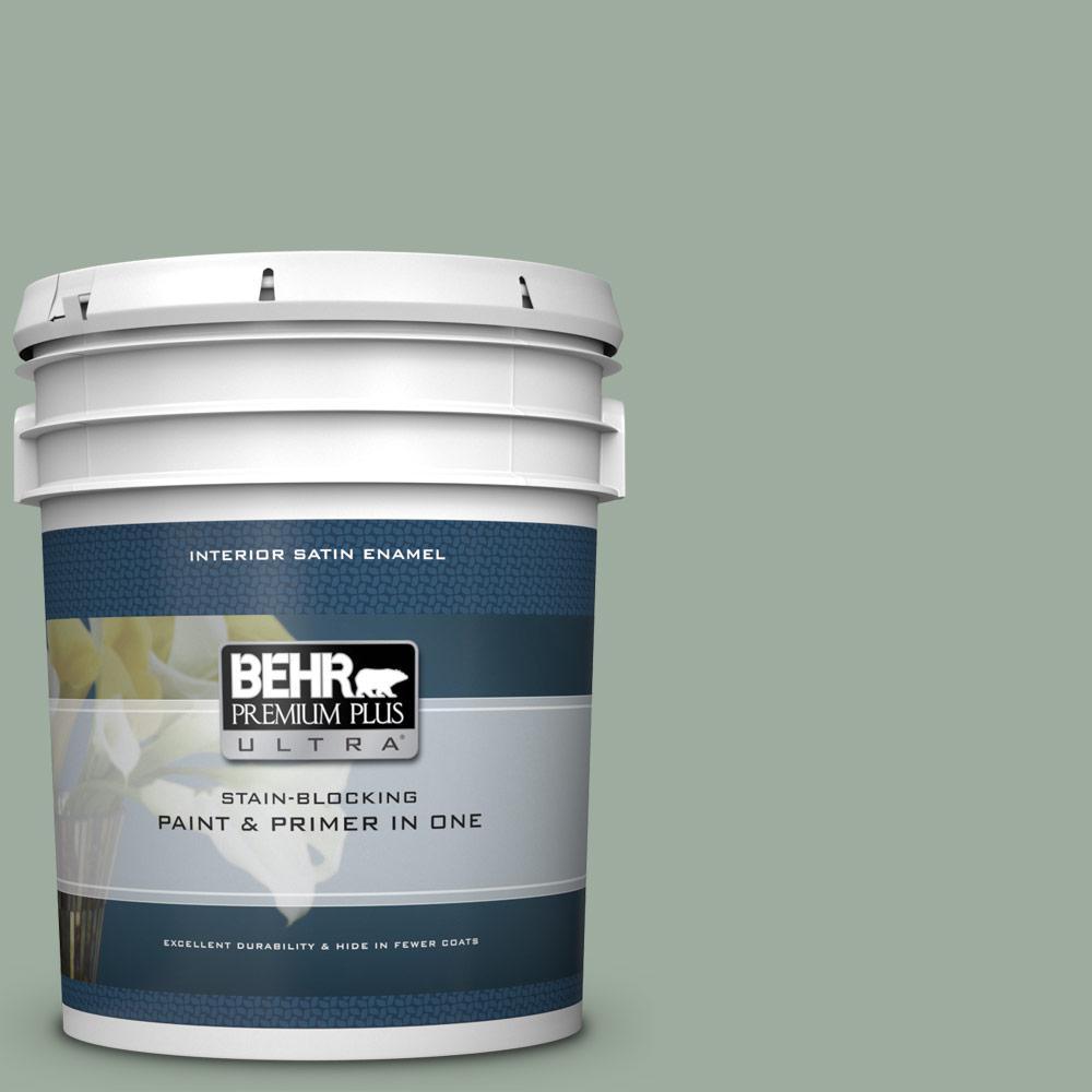 Behr premium plus ultra 5 gal ppu11 15 green balsam - Best interior paint and primer in one ...