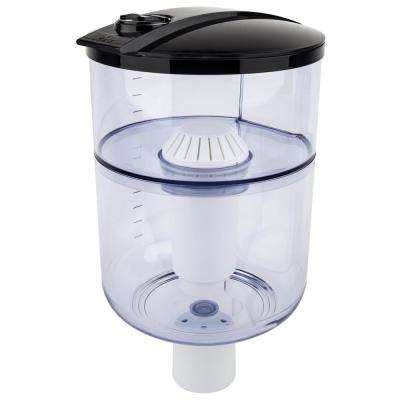 Water Filtration System for Top-Load Water Dispensers in Black