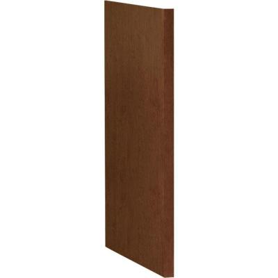 1.5x34.5x24 in. Dishwasher End Panel in Cognac