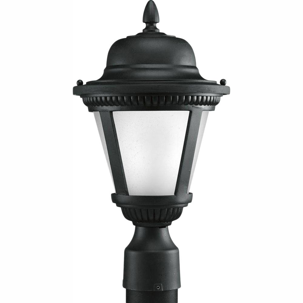 Progress Lighting Mac Collection 1 Light Black Outdoor: Progress Lighting Westport Collection 1-Light Black LED