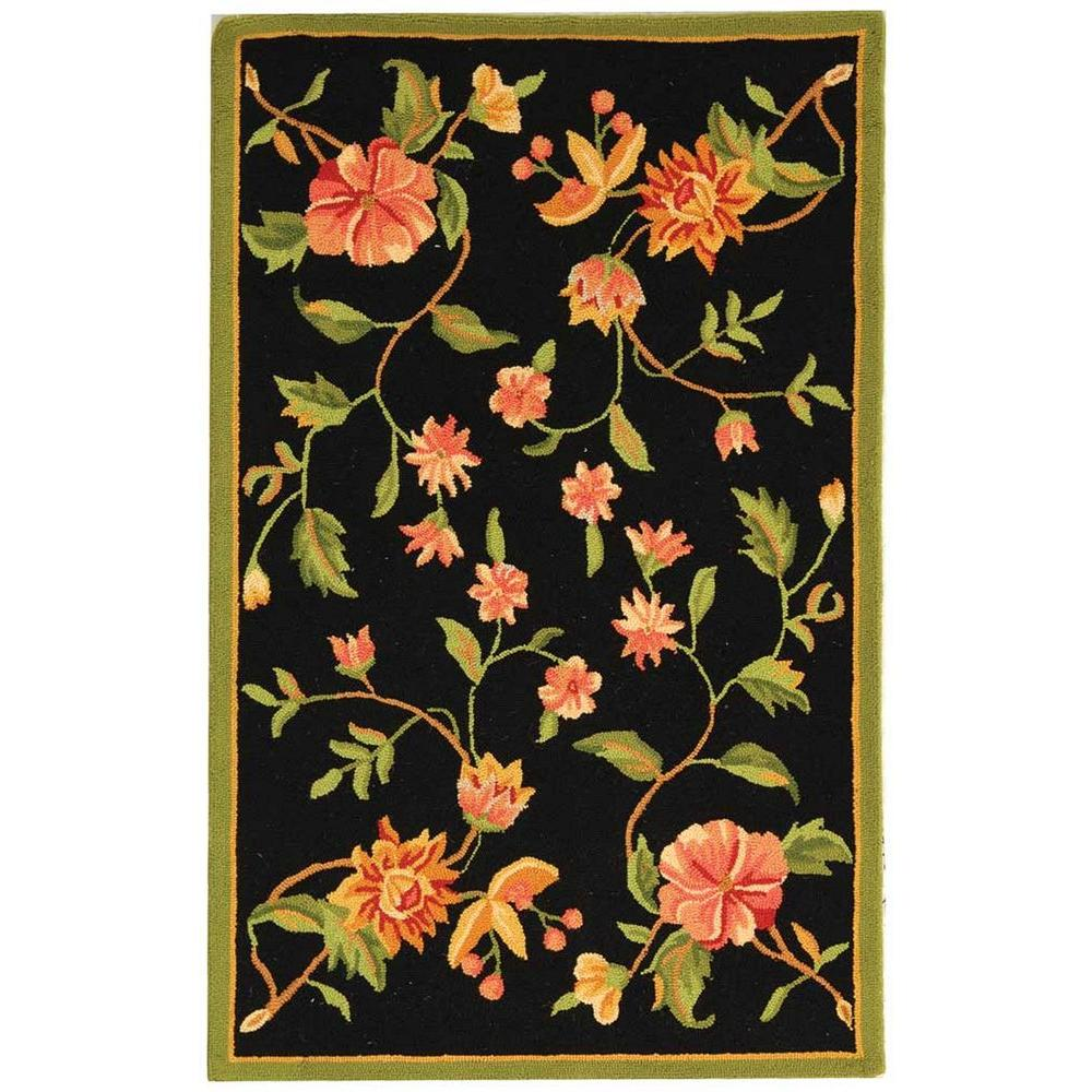 Safavieh Chelsea Black 2 ft. 6 in. x 4 ft. Area Rug
