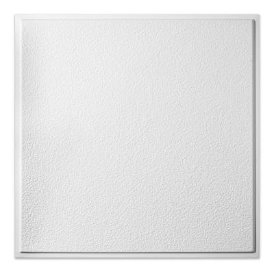 23.75in. X 23.75in. Stucco Pro Revealed Edge Vinyl Lay In White Ceiling Tile (Case of 12)