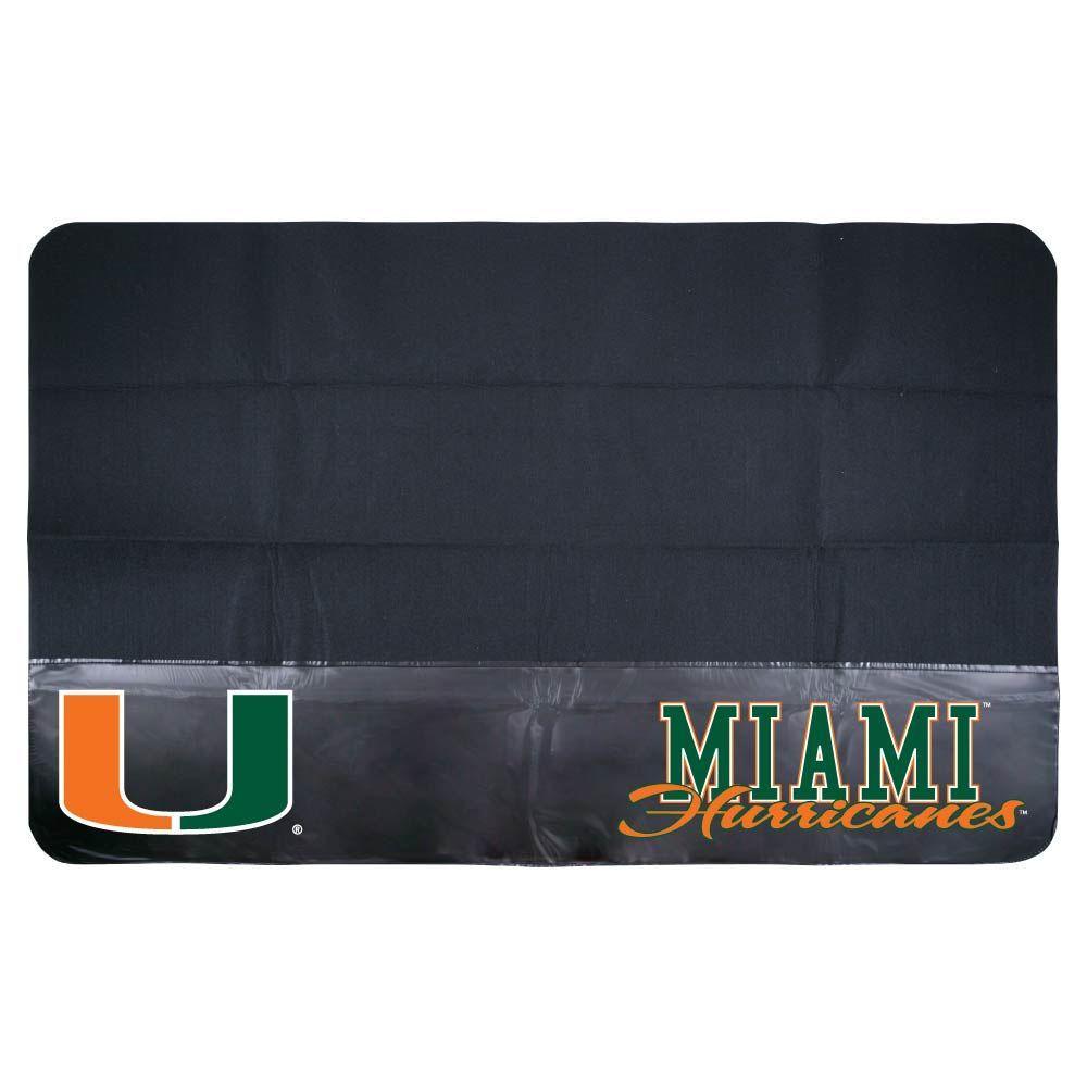 Mr. Bar-B-Q Miami 48 in. x 30 in. NCAA Grill Mat-DISCONTINUED