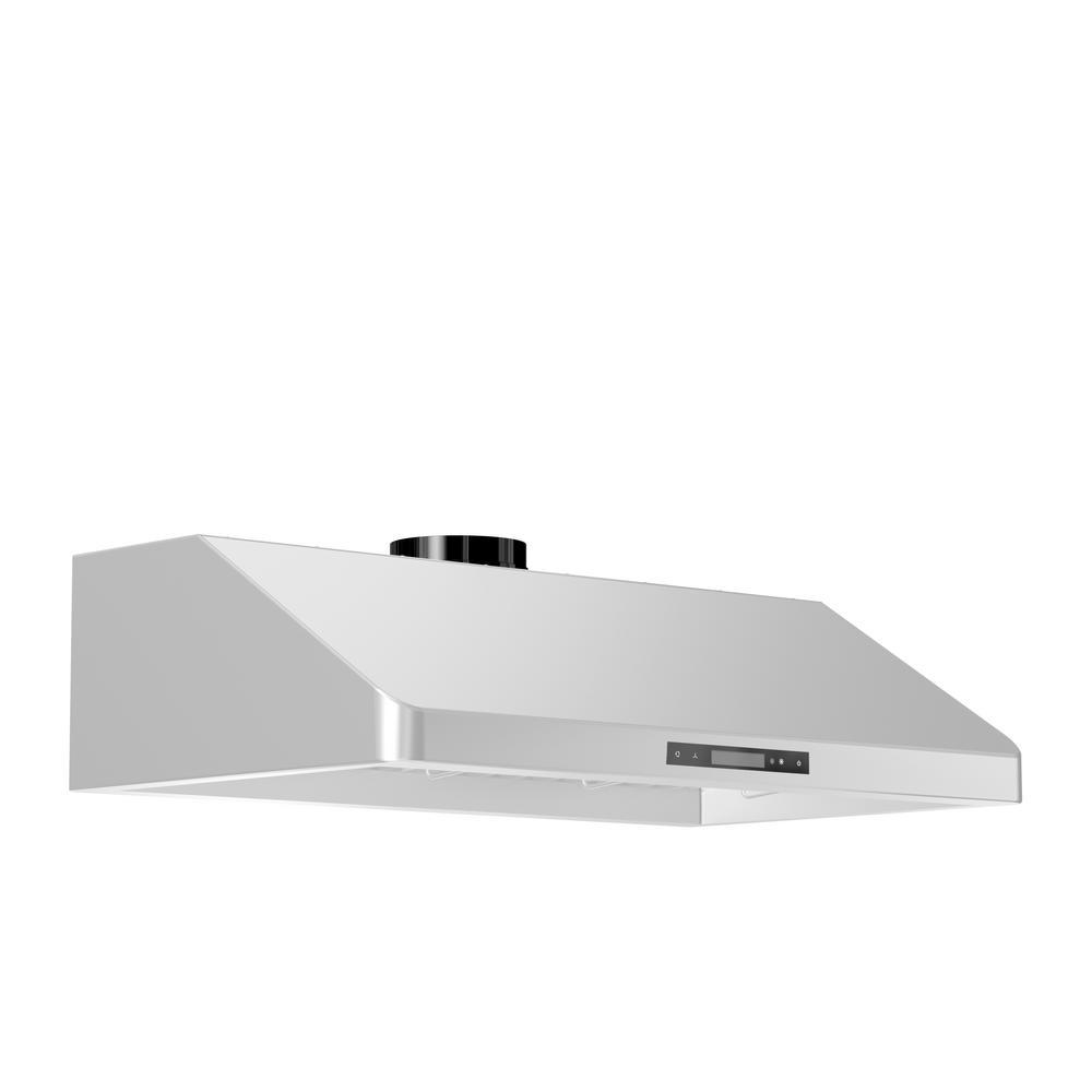 ZLINE Kitchen and Bath ZLINE 30 in. 900 CFM Under Cabinet Range ...