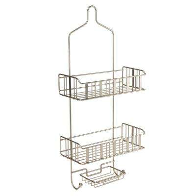 3-Tier Shower Caddy - Flat Stripe Wire