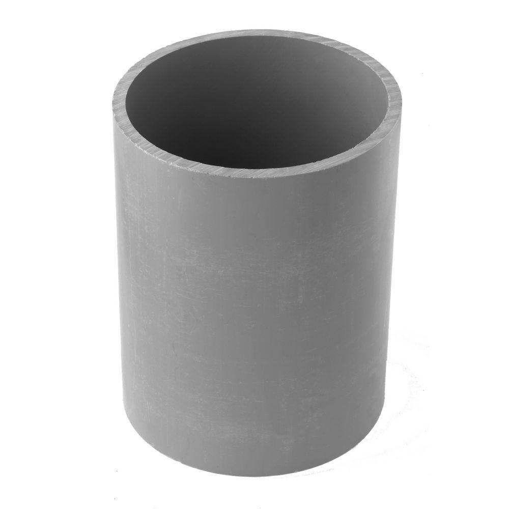 1/2 in. PVC Standard Fitting Coupling (Case of 185)