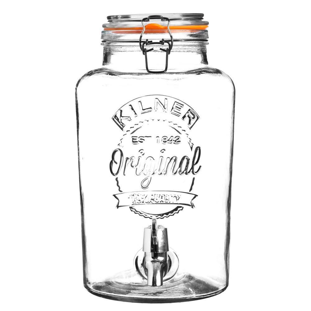2 Gal. Clip Top Drink Dispenser 0025.403U