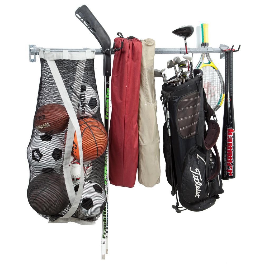 51 in. W Large Sports Storage Rack