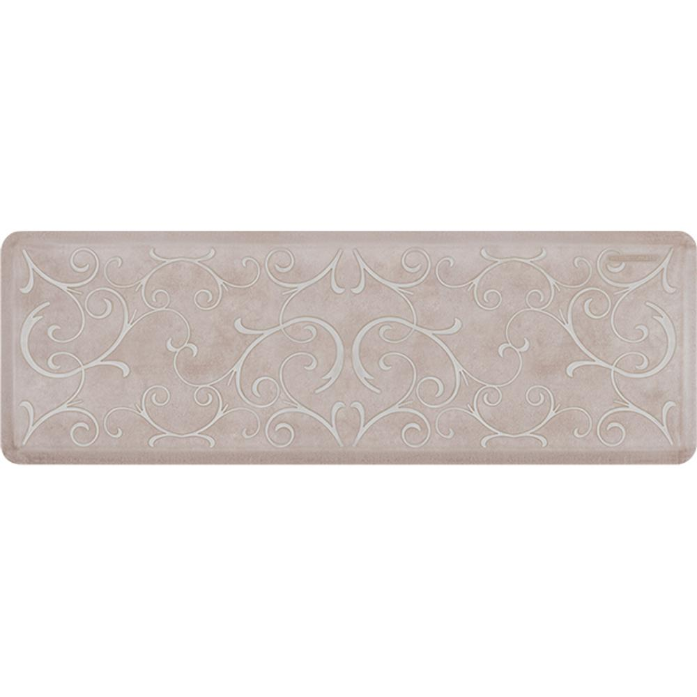 Wellness Mats Estates Bella Tan with White Wash 72 in. x 24 in ...