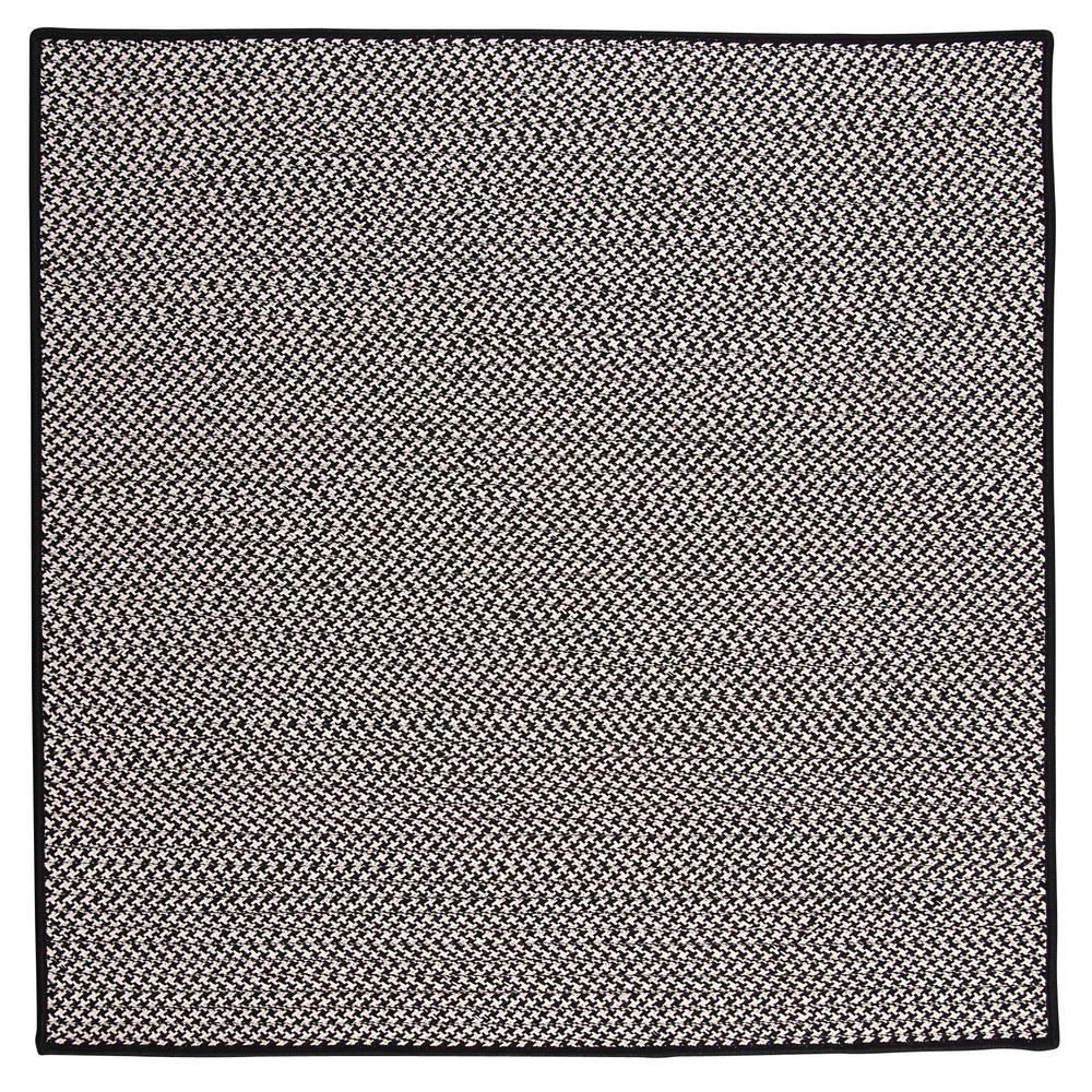 Home Decorators Collection Sadie Black 10 Ft X 10 Ft Indoor Outdoor Braided Area Rug