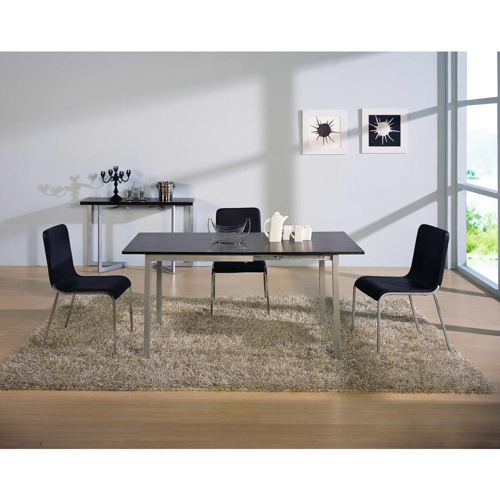 Easy Slide Walnut Transforming Dining Table