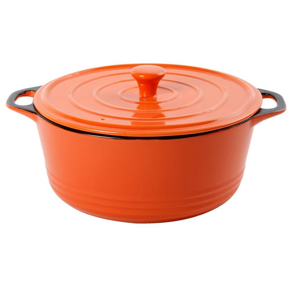 Crock Pot 5 qt. Caserole and Lid Orange