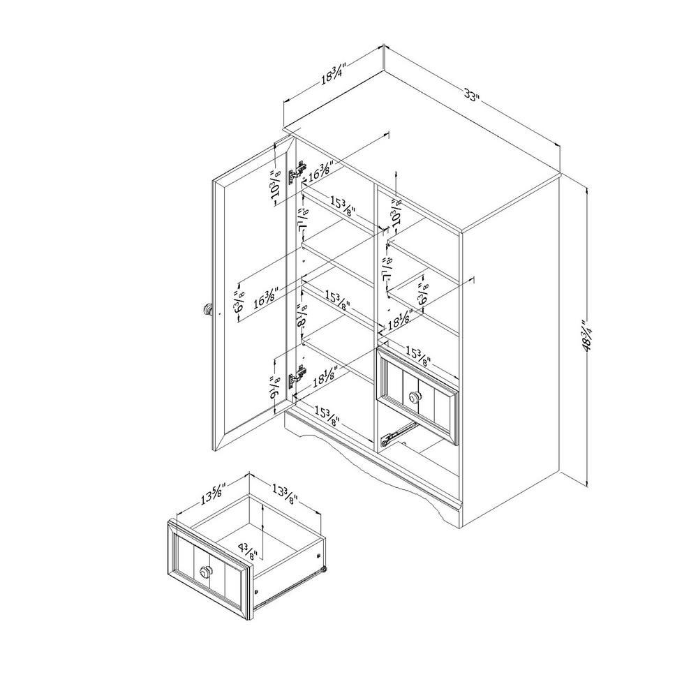 Home Wall Units Doors
