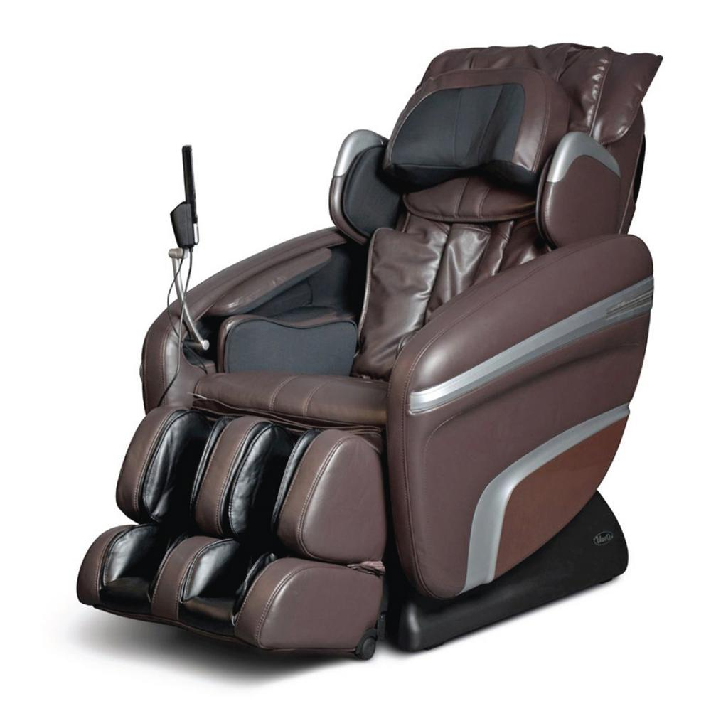 Osaki Brown Faux Leather Reclining Massage Chair was $3484.84 now $2099.0 (40.0% off)
