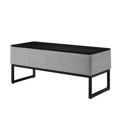 Sky Light Grey Coffee Working Table