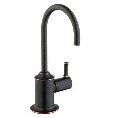 Talis C Lever Drinking Fountain Faucet in Rubbed Bronze