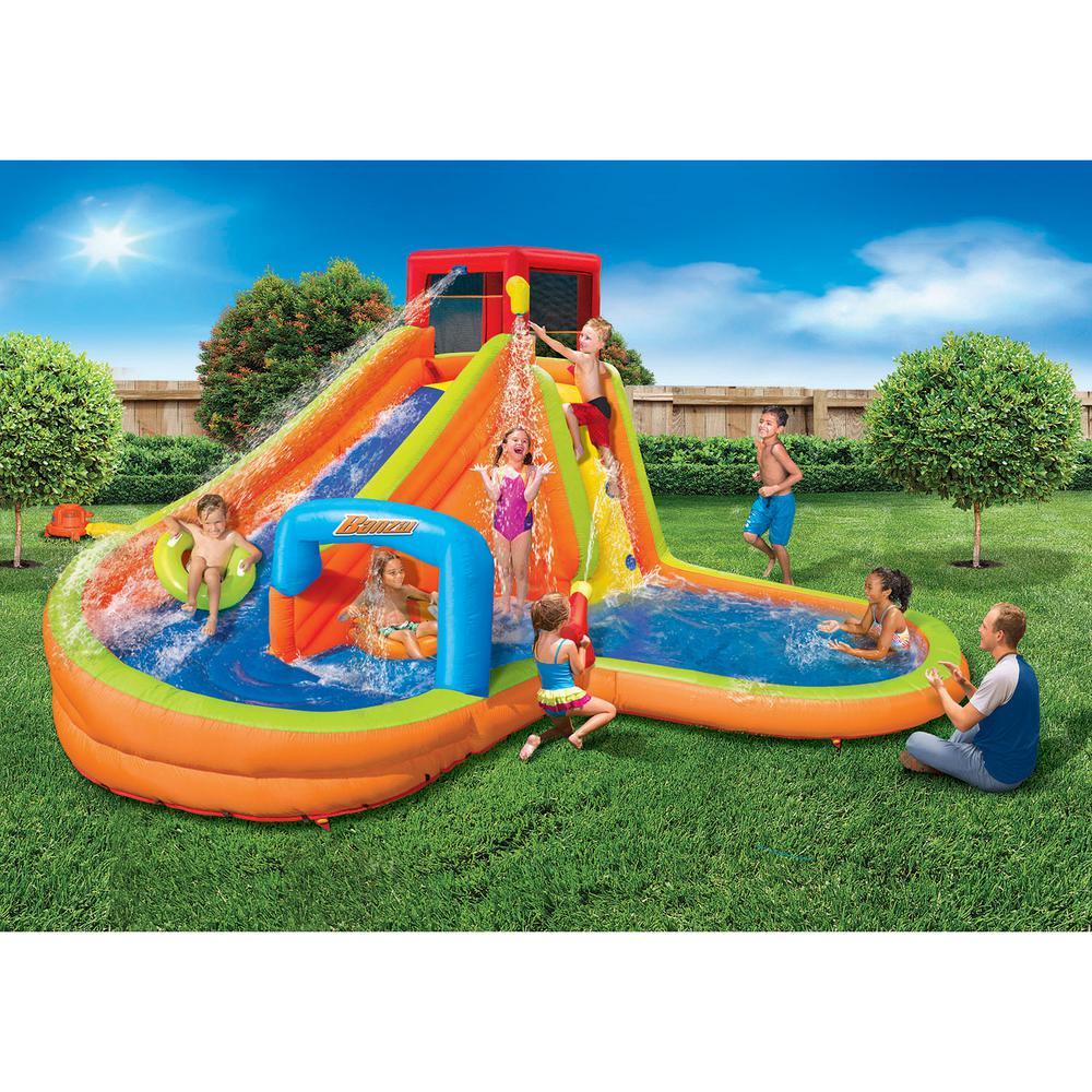 Banzai Banzai Lazy River Inflatable Outdoor Adventure