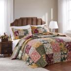 Antique Chic 3-Piece Full Bedspread Set