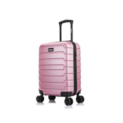 Trend 20 in. Rose Gold Lightweight Hardside Spinner Carry On