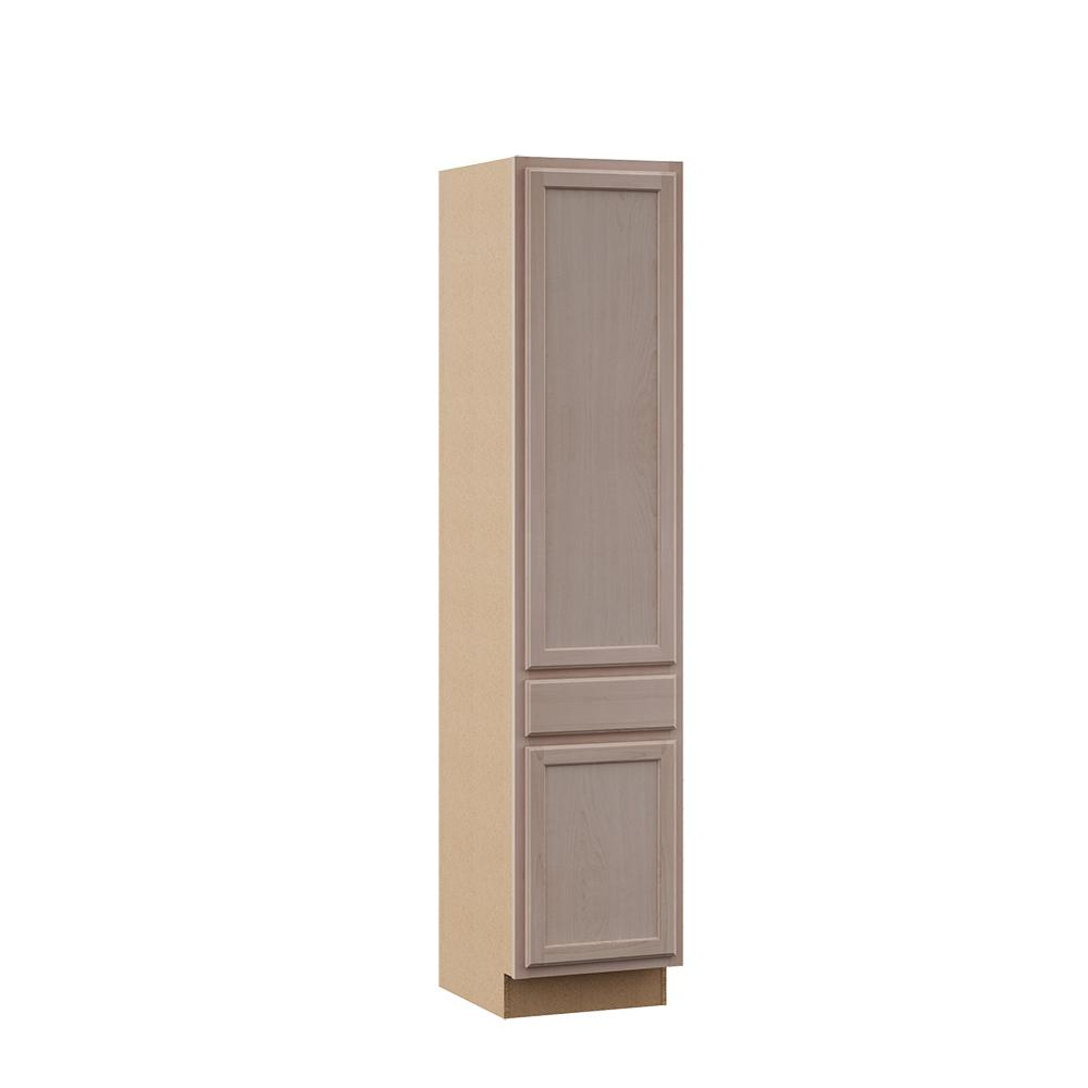Assembled 24 in. x 84 in. x 18 in. Pantry Kitchen Cabinet in ...