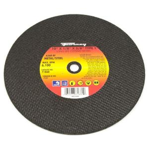 Forney 10 inch x 1/8 inch x 5/8 inch Metal Type 1 A36R-BF Chop Saw Blade by Forney