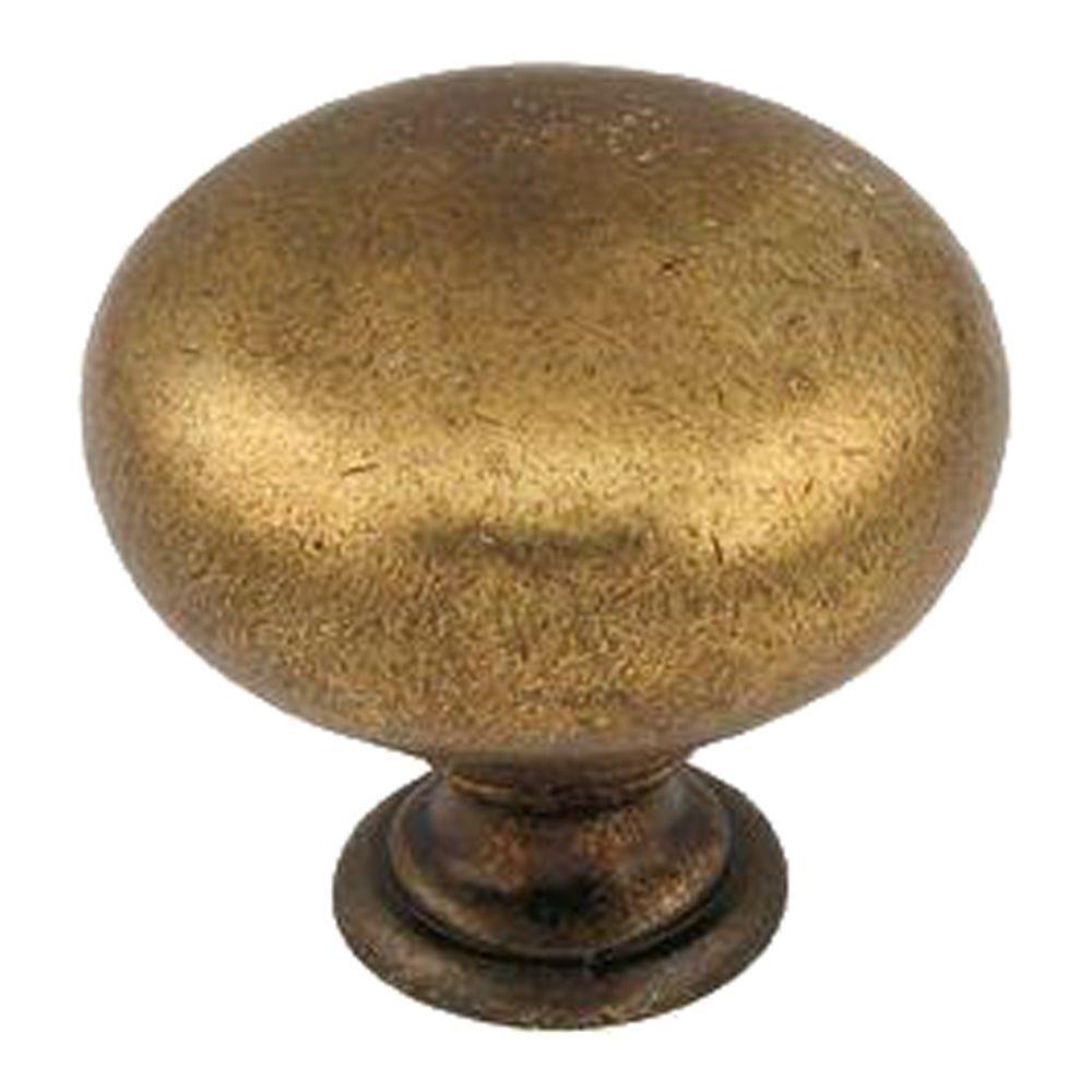1-1/4 in. Brown Windsor Antique Furniture Knob