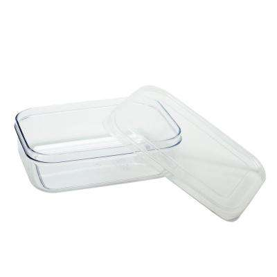 Micro Clear Set of 3 Plastic Container Set