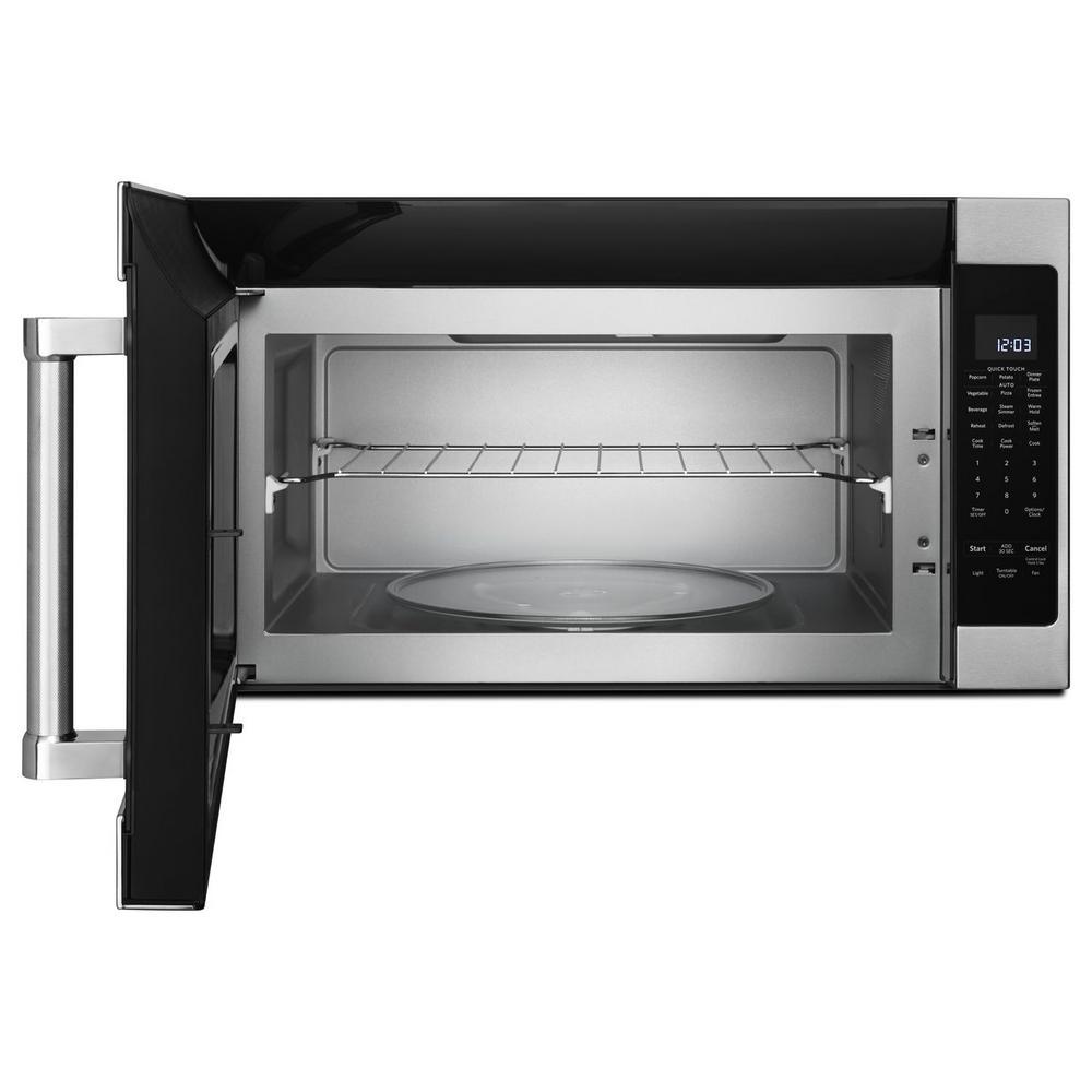 5 Kitchenaid 2 0 Cu Ft Over The Range Microwave