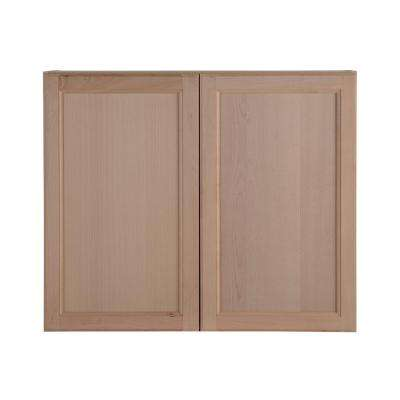 Easthaven Wall Cabinet In Unfinished German Beech