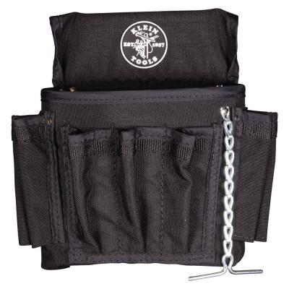18 Pocket Black Cordura Tool Pouch